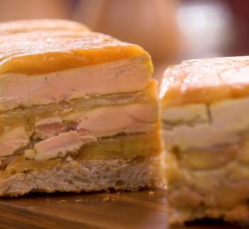 Recette terrine de foie gras aux pommes