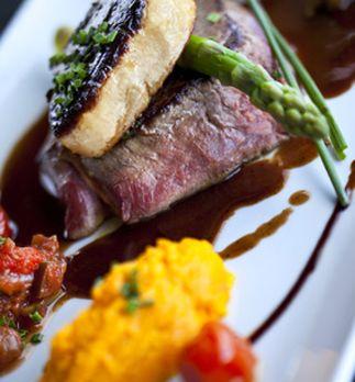 Recette foie gras et magret en tournedos rossini