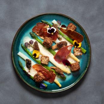 Croquettes de foie gras par le Chef Lucas du Restaurant Euskalduna