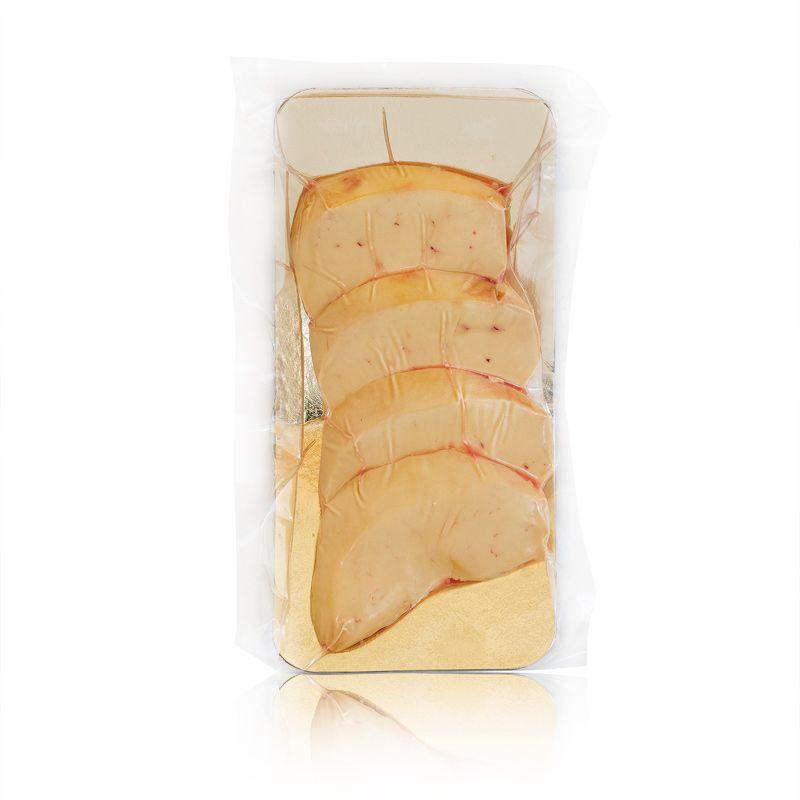 Foie gras frais extra de canard en tranches