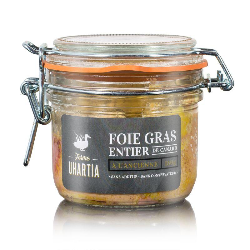 Foie gras entier de canard à l'ancienne