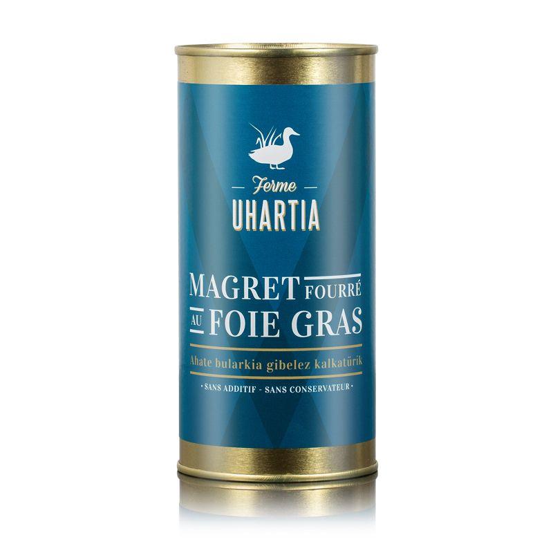 Magret fourré au foie grasde canard