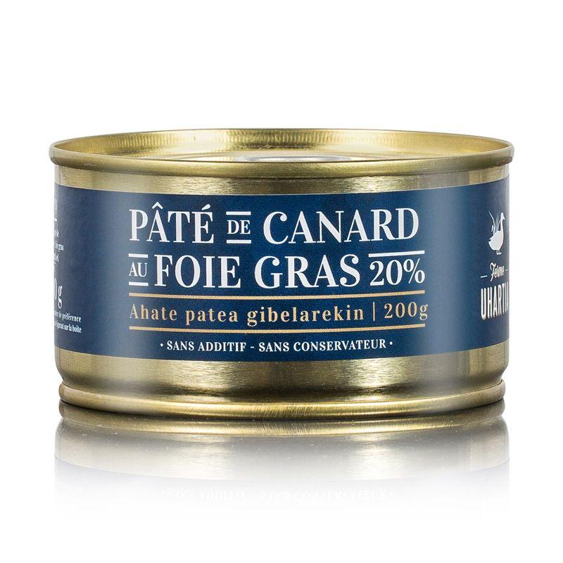 Pâté au foie gras de canard 20%