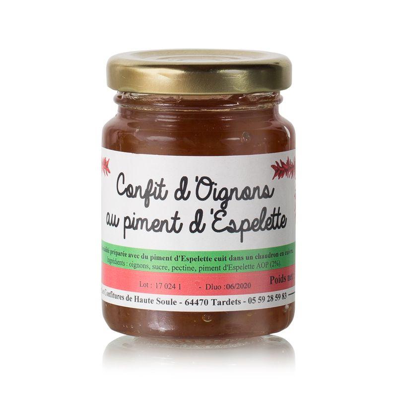 Confit d'oignon au piment d'Espelette